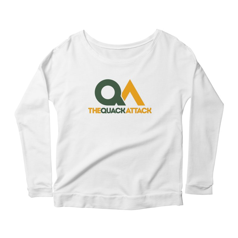 The Quack Attack Women's Scoop Neck Longsleeve T-Shirt by The Quack Attack