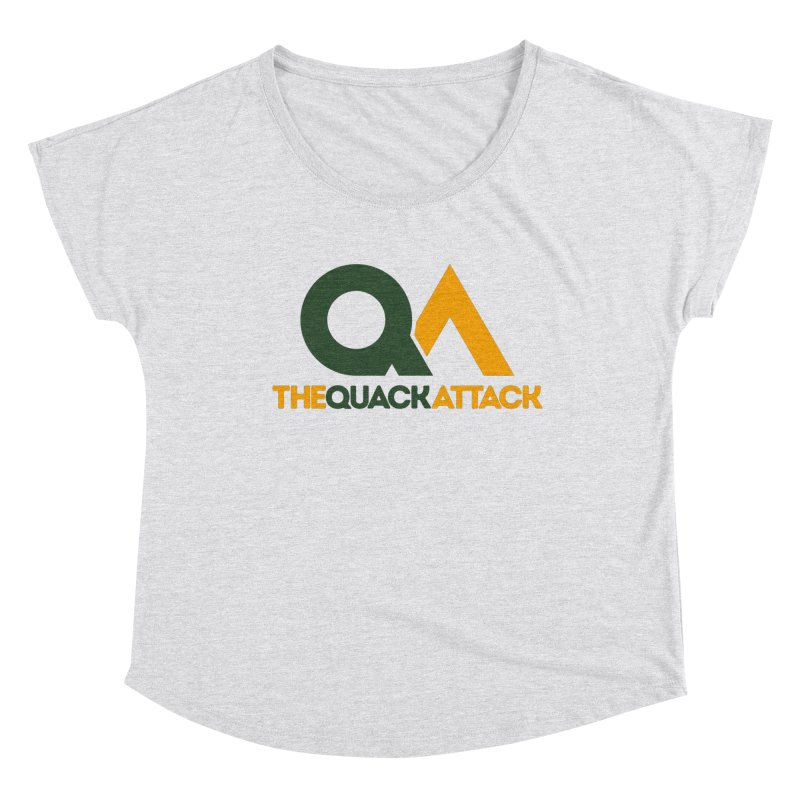 The Quack Attack Women's Dolman Scoop Neck by The Quack Attack