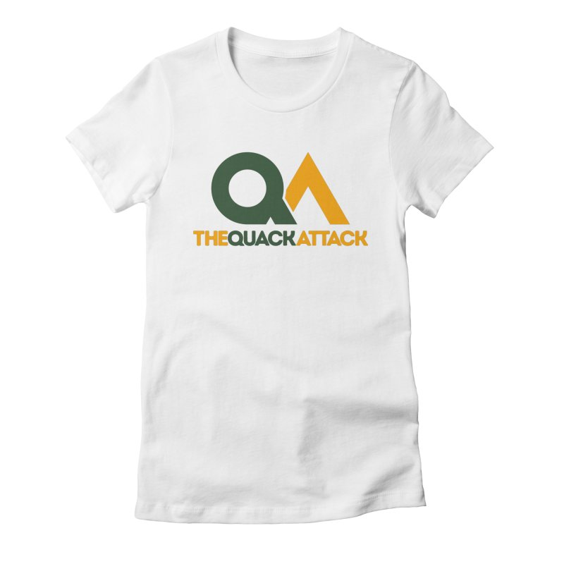 The Quack Attack Women's Fitted T-Shirt by The Quack Attack