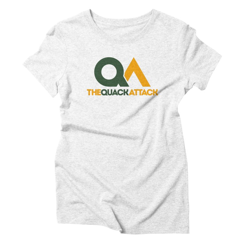 The Quack Attack Women's Triblend T-shirt by The Quack Attack