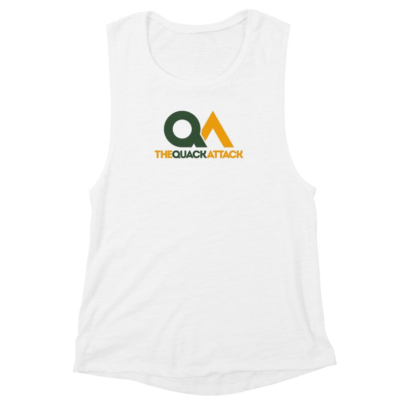 The Quack Attack Women's Muscle Tank by The Quack Attack
