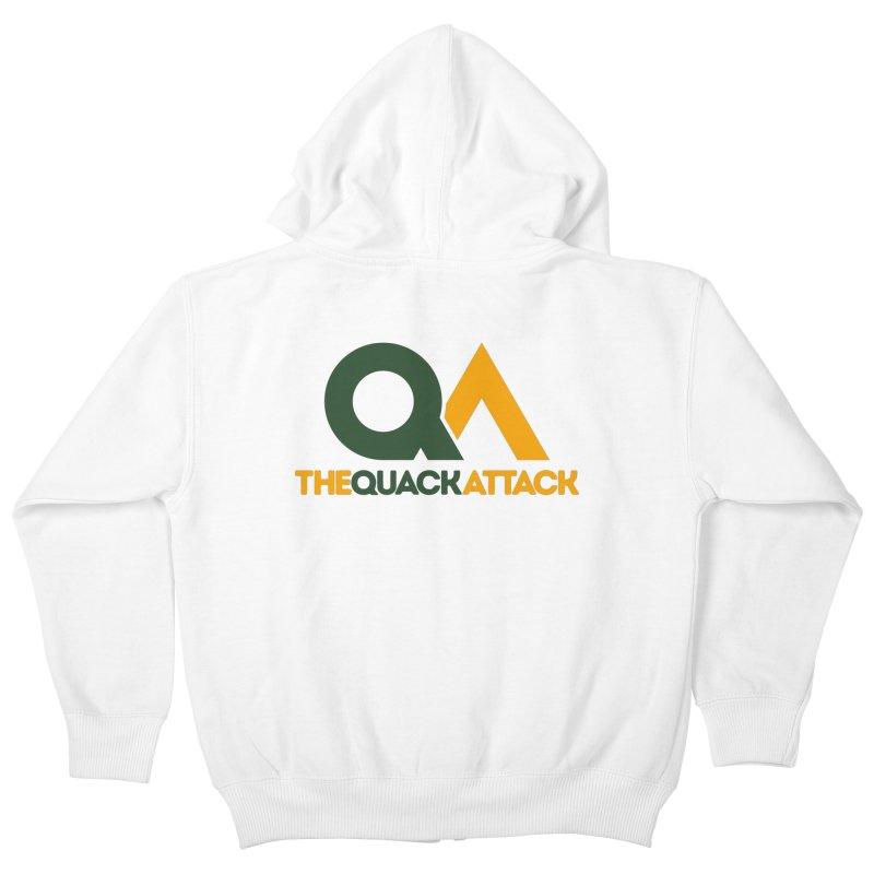 The Quack Attack Kids Zip-Up Hoody by The Quack Attack
