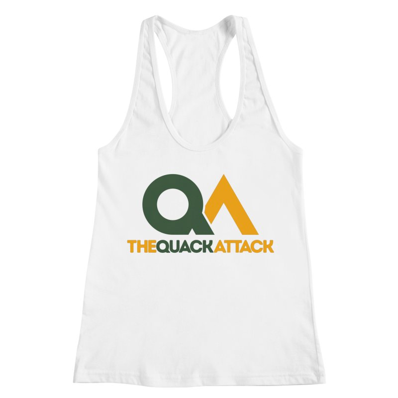 The Quack Attack Women's Racerback Tank by The Quack Attack