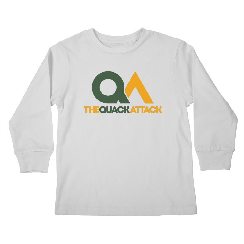 The Quack Attack Kids Longsleeve T-Shirt by The Quack Attack