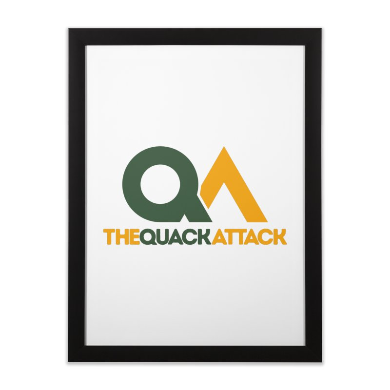 The Quack Attack Home Framed Fine Art Print by The Quack Attack