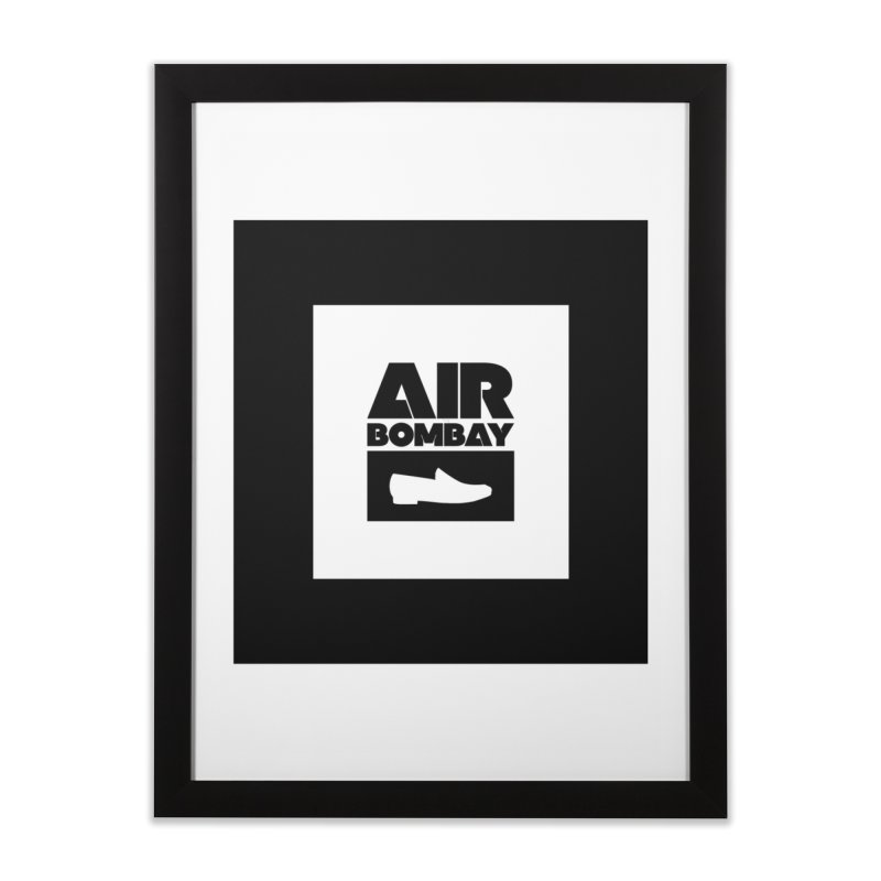 The Air Bombay | Light Home Framed Fine Art Print by The Quack Attack