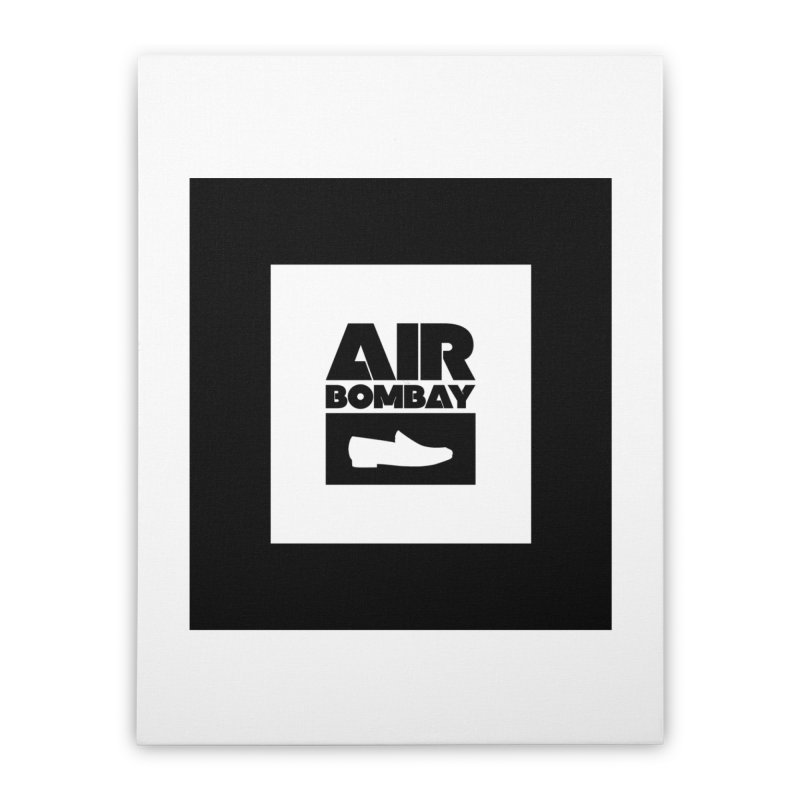 The Air Bombay | Light Home Stretched Canvas by The Quack Attack