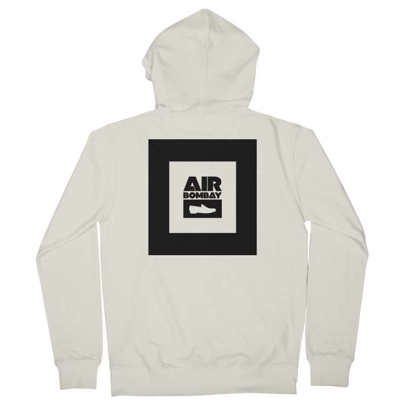 The Air Bombay | Light Men's French Terry Zip-Up Hoody by The Quack Attack