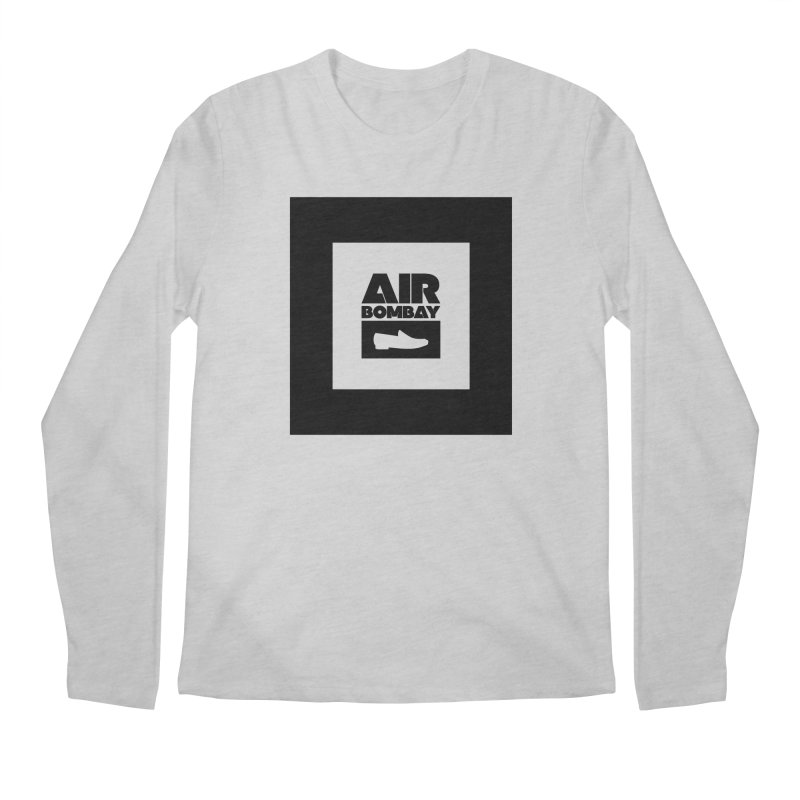The Air Bombay | Light Men's Regular Longsleeve T-Shirt by The Quack Attack