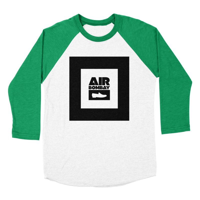 The Air Bombay | Light Women's Baseball Triblend Longsleeve T-Shirt by The Quack Attack