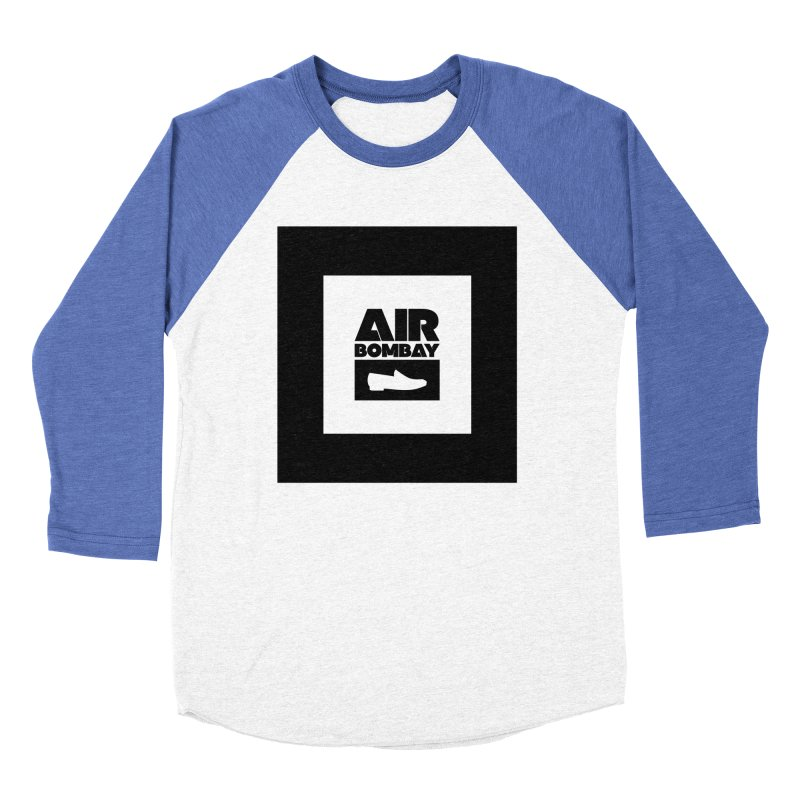 The Air Bombay | Light Men's Baseball Triblend Longsleeve T-Shirt by The Quack Attack