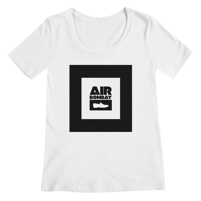 The Air Bombay | Light Women's Regular Scoop Neck by The Quack Attack
