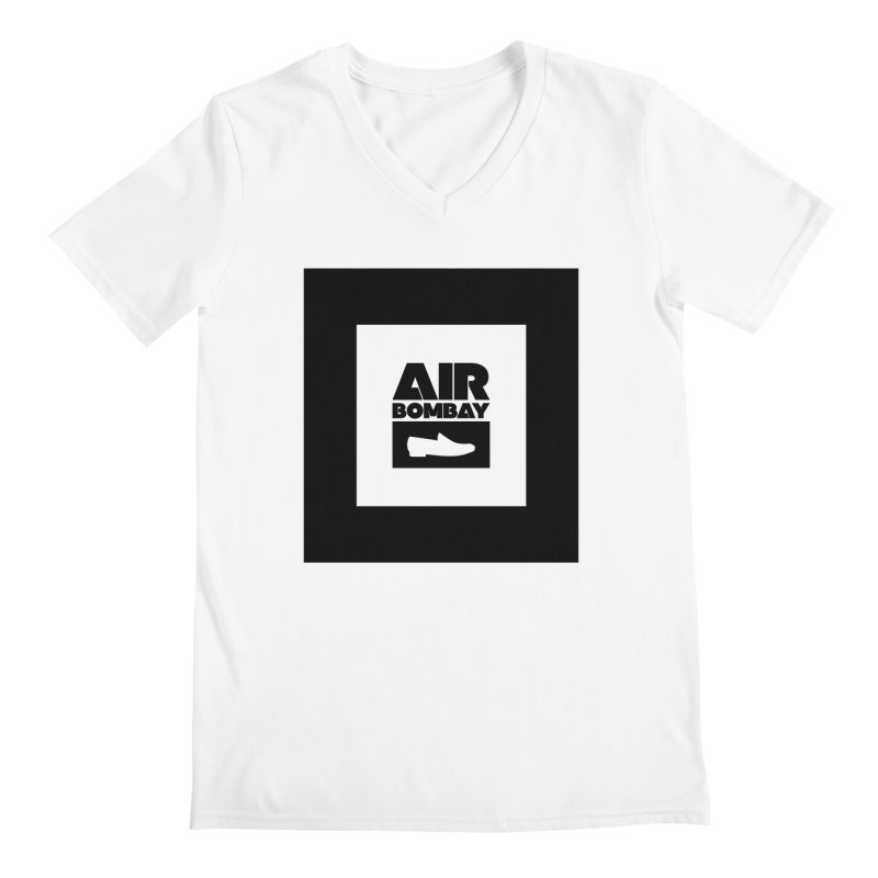 The Air Bombay | Light Men's Regular V-Neck by The Quack Attack