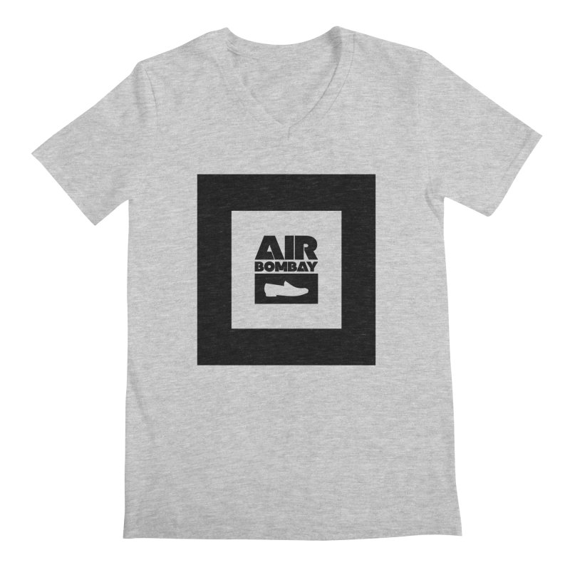 The Air Bombay | Light Men's V-Neck by The Quack Attack