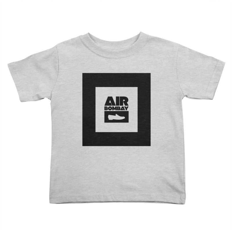 The Air Bombay | Light Kids Toddler T-Shirt by The Quack Attack