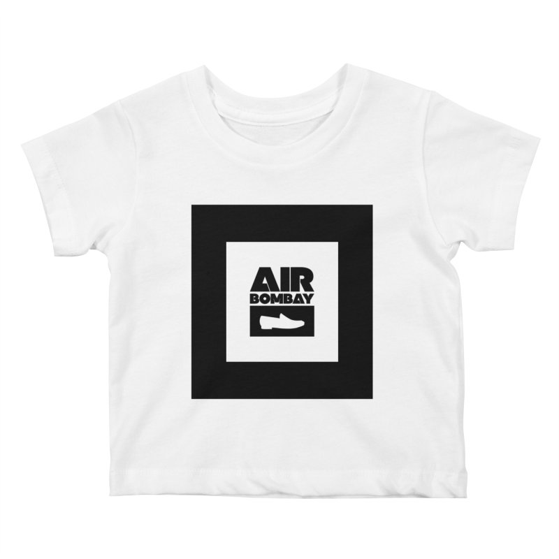 The Air Bombay | Light Kids Baby T-Shirt by The Quack Attack