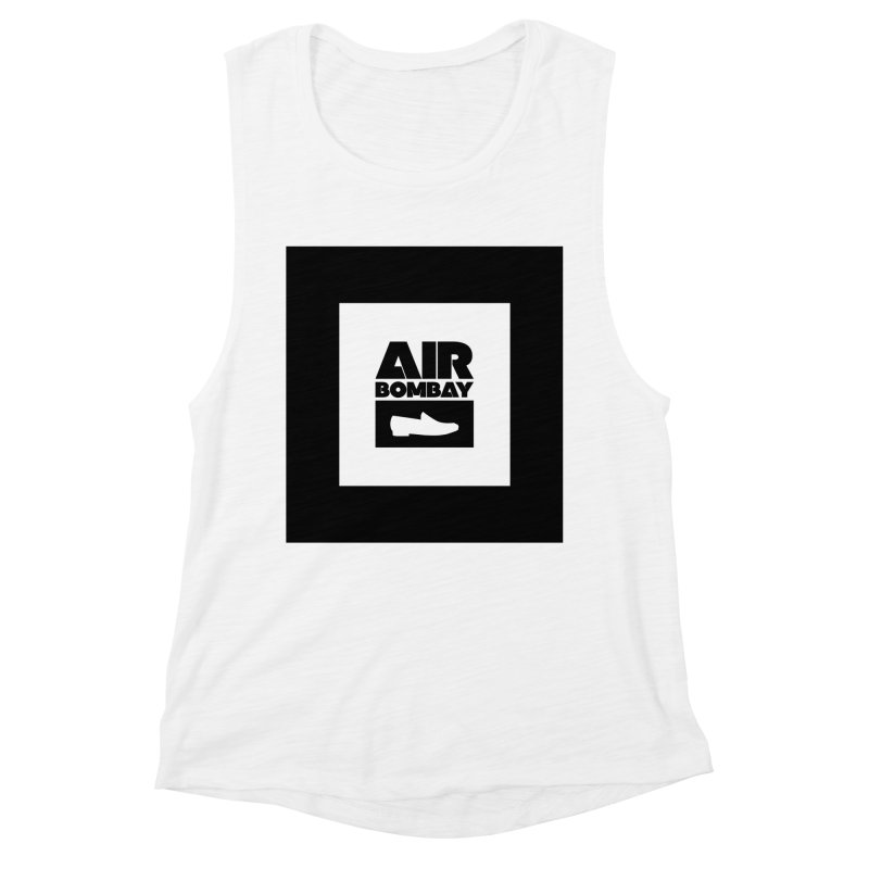 The Air Bombay | Light Women's Muscle Tank by The Quack Attack
