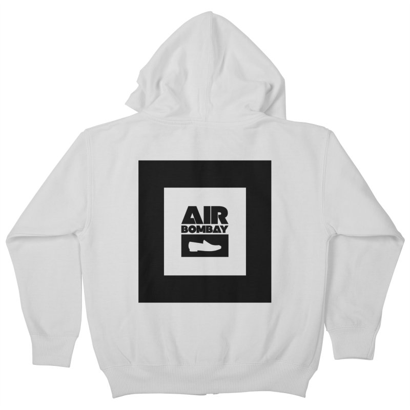 The Air Bombay | Light Kids Zip-Up Hoody by The Quack Attack