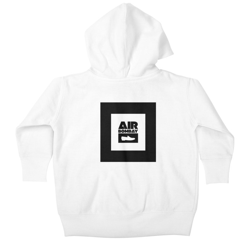 The Air Bombay | Light Kids Baby Zip-Up Hoody by The Quack Attack