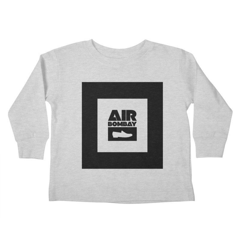 The Air Bombay | Light Kids Toddler Longsleeve T-Shirt by The Quack Attack