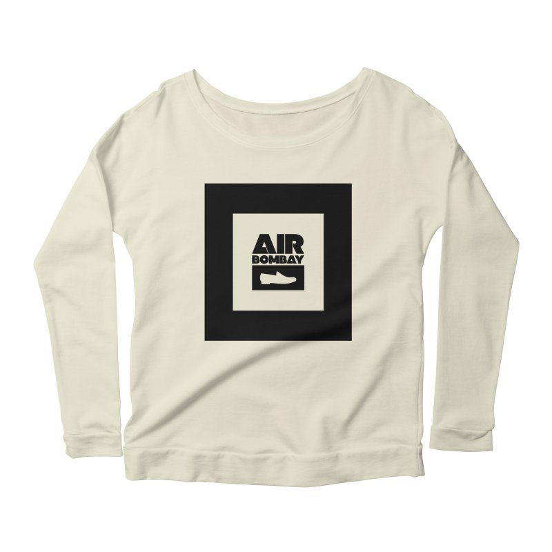 The Air Bombay | Light Women's Longsleeve Scoopneck  by The Quack Attack