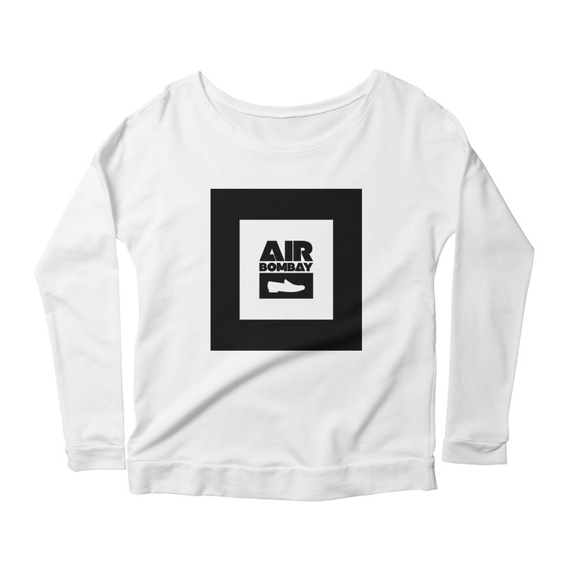 The Air Bombay | Light Women's Scoop Neck Longsleeve T-Shirt by The Quack Attack