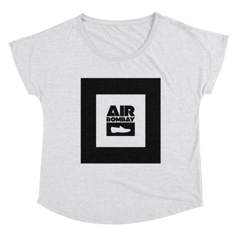 The Air Bombay | Light Women's Dolman Scoop Neck by The Quack Attack