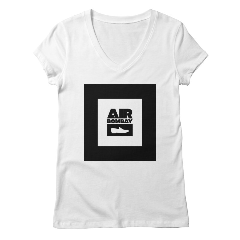 The Air Bombay | Light Women's V-Neck by The Quack Attack