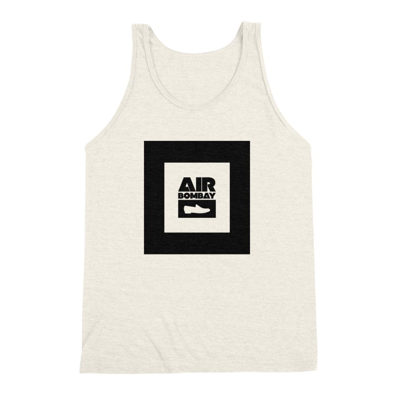 The Air Bombay | Light Men's Triblend Tank by The Quack Attack