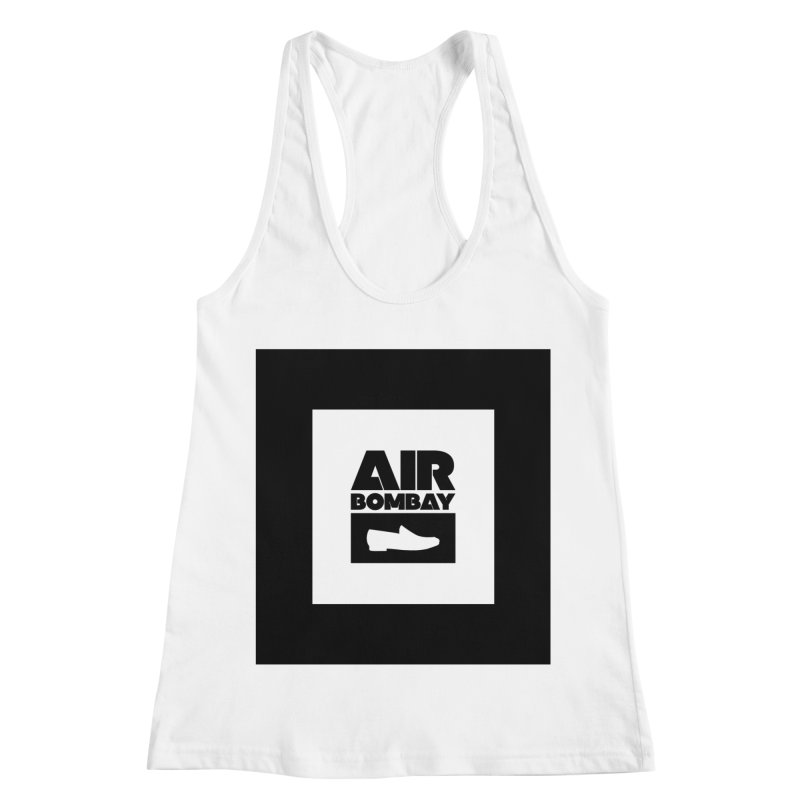 The Air Bombay | Light Women's Racerback Tank by The Quack Attack