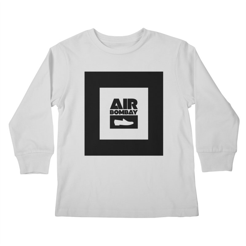 The Air Bombay | Light Kids Longsleeve T-Shirt by The Quack Attack