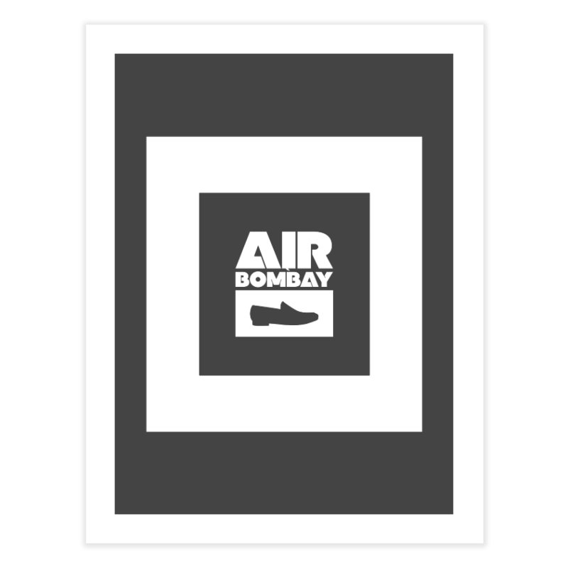 The Air Bombay | Dark Home Fine Art Print by The Quack Attack