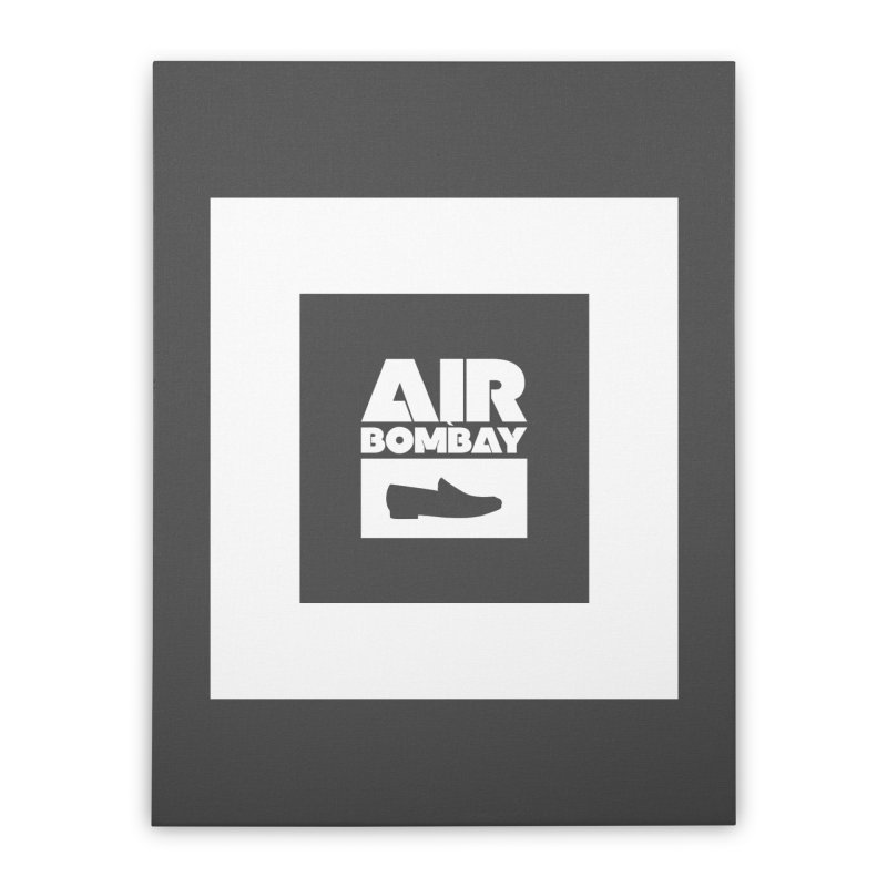 The Air Bombay | Dark Home Stretched Canvas by The Quack Attack