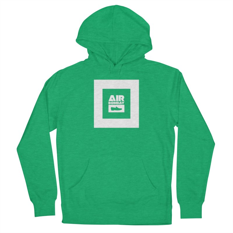 The Air Bombay | Dark Women's French Terry Pullover Hoody by The Quack Attack