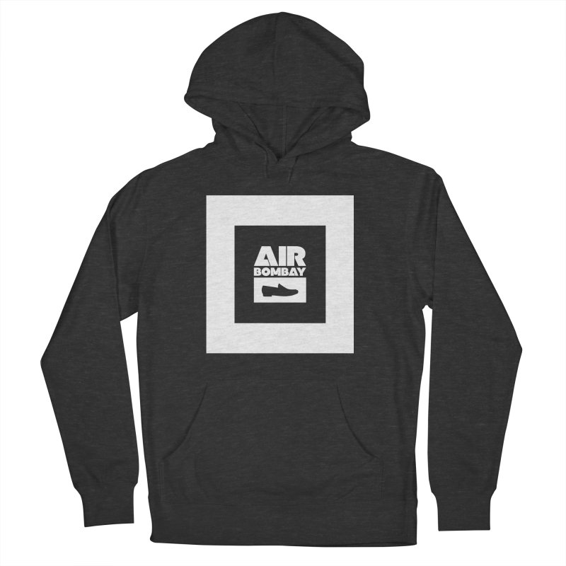 The Air Bombay | Dark Men's French Terry Pullover Hoody by The Quack Attack
