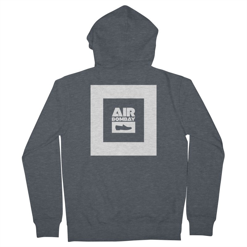 The Air Bombay | Dark Women's Zip-Up Hoody by The Quack Attack