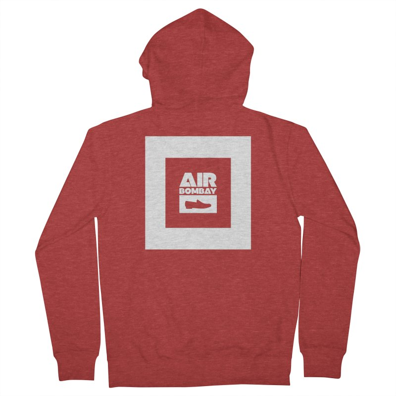 The Air Bombay | Dark Women's French Terry Zip-Up Hoody by The Quack Attack
