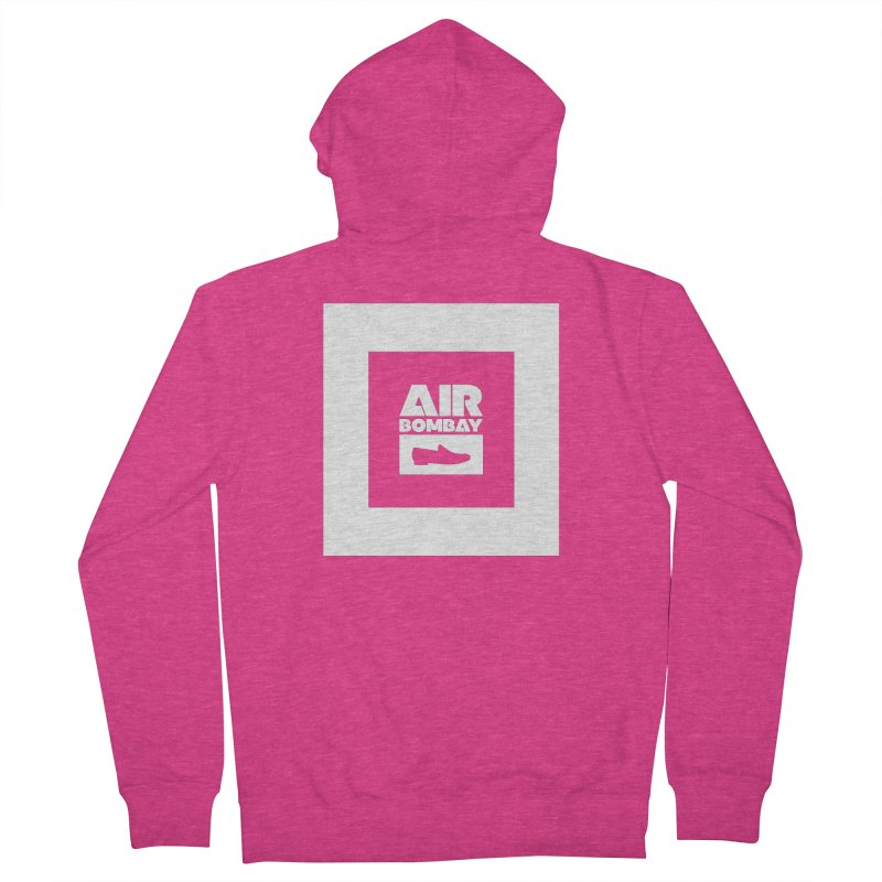 The Air Bombay   Dark Women's French Terry Zip-Up Hoody by The Quack Attack