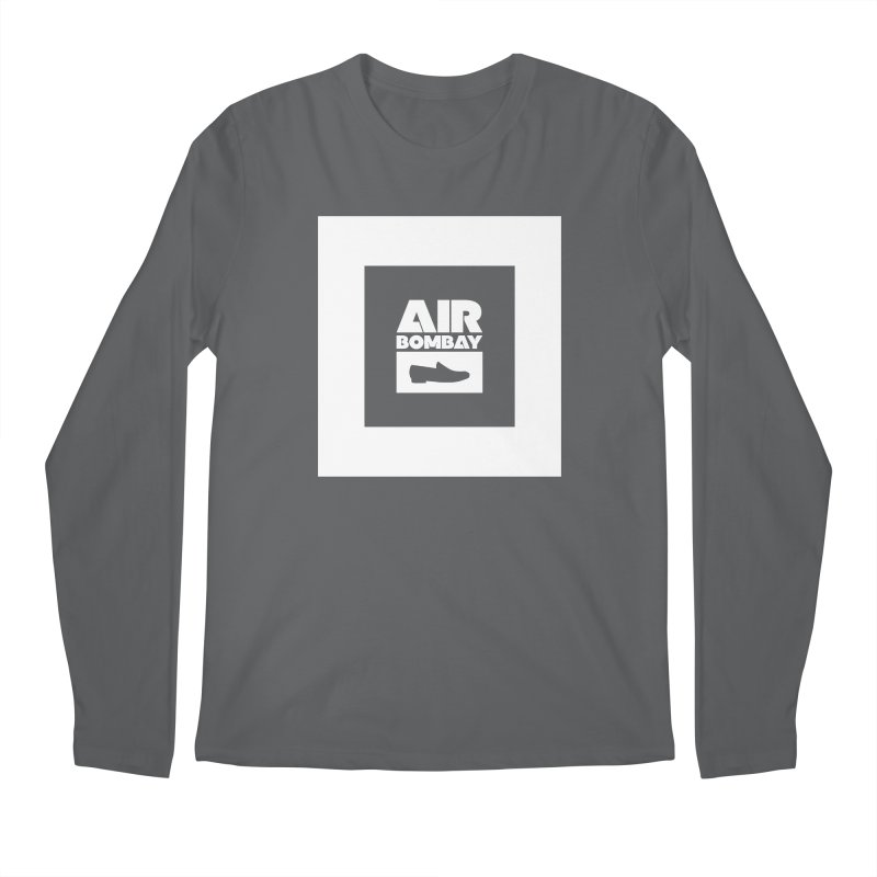 The Air Bombay | Dark Men's Longsleeve T-Shirt by The Quack Attack