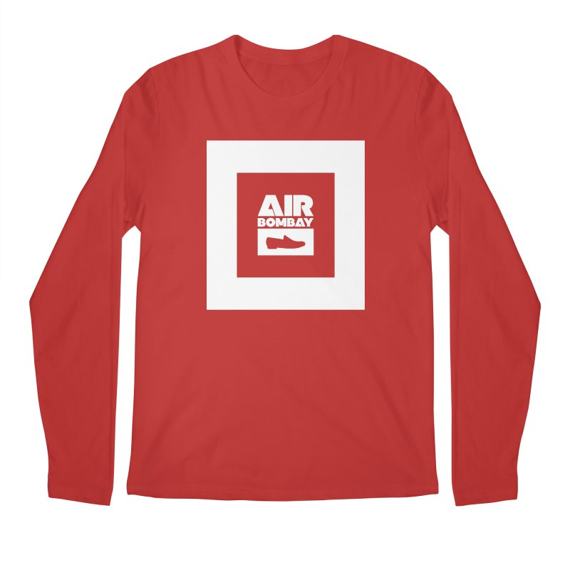 The Air Bombay | Dark Men's Regular Longsleeve T-Shirt by The Quack Attack
