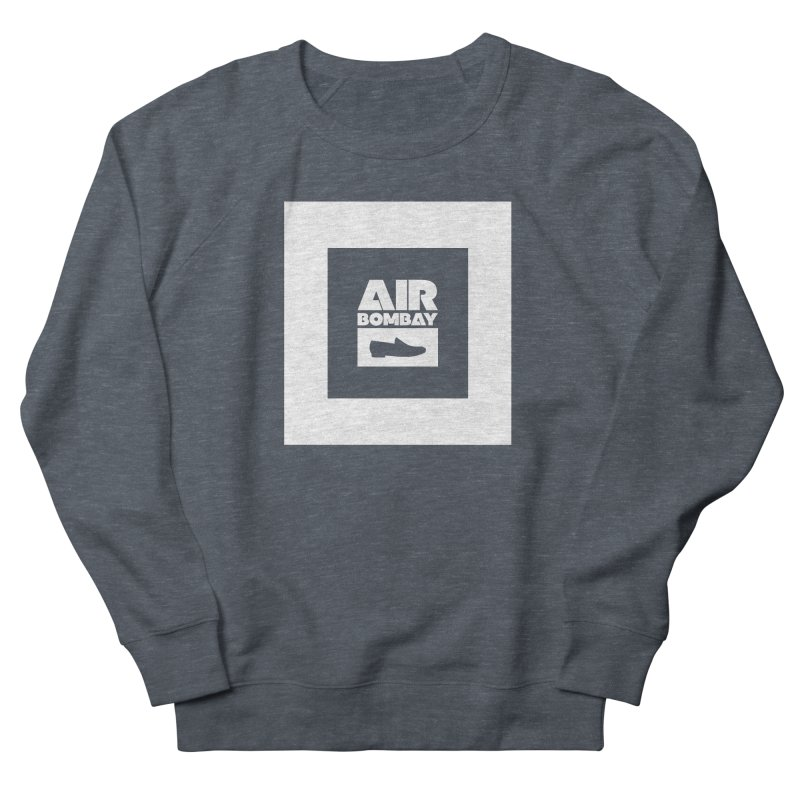 The Air Bombay | Dark Women's French Terry Sweatshirt by The Quack Attack