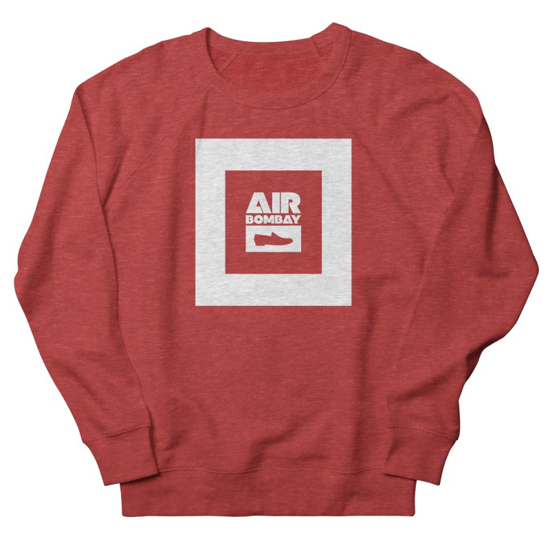 The Air Bombay | Dark Men's French Terry Sweatshirt by The Quack Attack