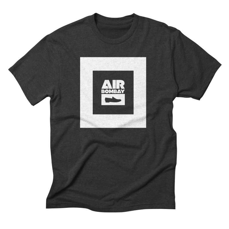 The Air Bombay | Dark in Men's Triblend T-Shirt Heather Onyx by The Quack Attack