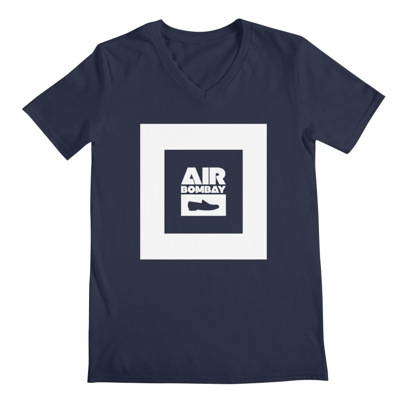 The Air Bombay | Dark Men's V-Neck by The Quack Attack