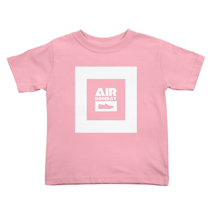 The Air Bombay | Dark Kids Toddler T-Shirt by The Quack Attack