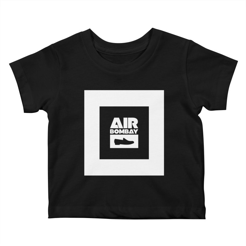 The Air Bombay | Dark Kids Baby T-Shirt by The Quack Attack