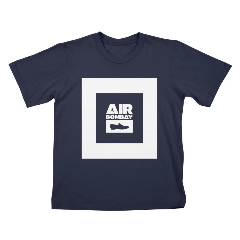 The Air Bombay | Dark Kids T-Shirt by The Quack Attack