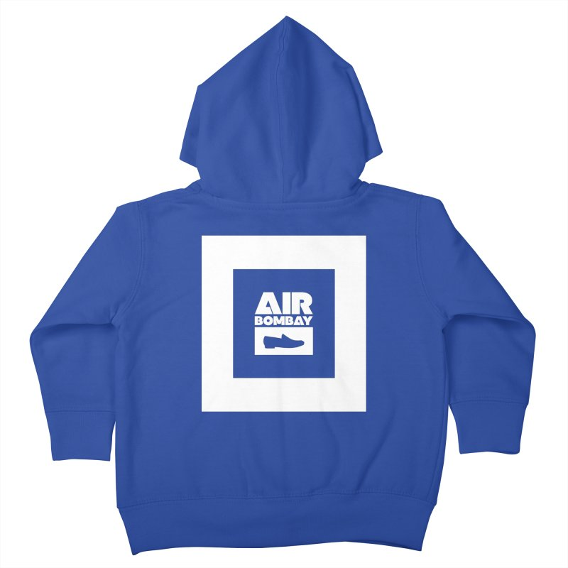 The Air Bombay | Dark Kids Toddler Zip-Up Hoody by The Quack Attack