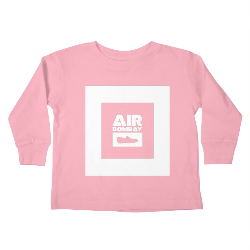 The Air Bombay | Dark Kids Toddler Longsleeve T-Shirt by The Quack Attack