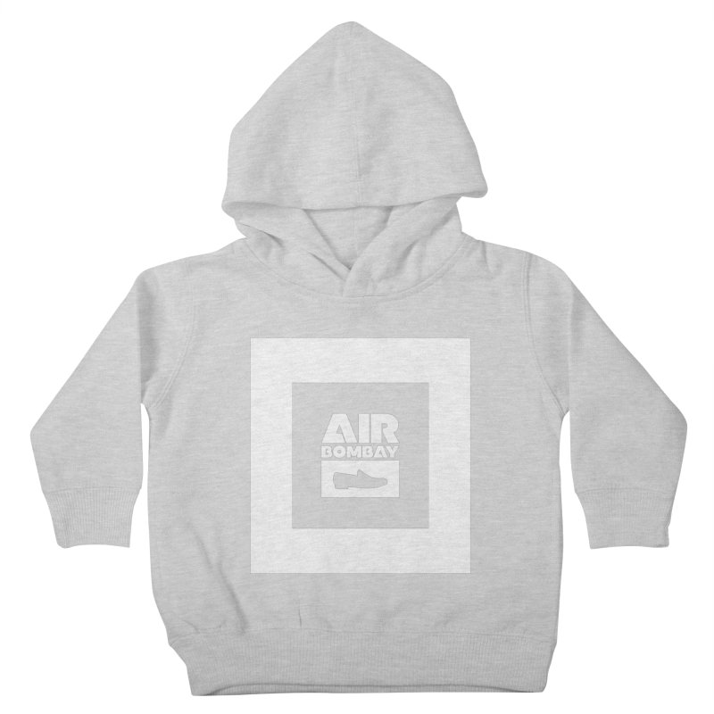The Air Bombay | Dark Kids Toddler Pullover Hoody by The Quack Attack